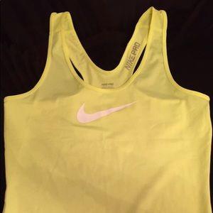 Nike pro women's sport tank